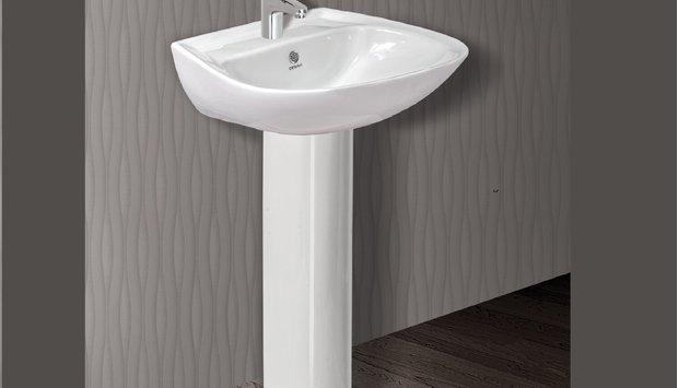 Chậu rửa treo cho phòng tắm thêm sang trọng