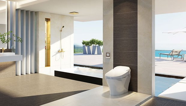 Viglacera tự hào mang lại một trải nghiệm hoàn toàn mới trong không gian phòng tắm