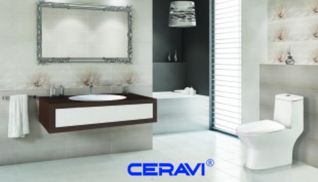 Bồn cầu Ceravi sản phẩm hoàn hảo về nước men và bộ xả.