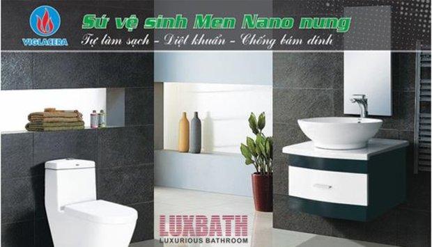 Hoàn thiện ngôi nhà của bạn với thiết bị vệ sinh viglacera