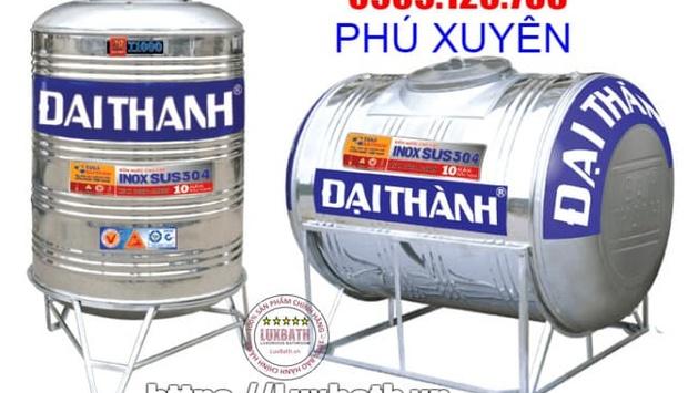 Bồn nước Tân Á Đại Thành giá rẻ nhất tại huyện Phú Xuyên, Hà Nội