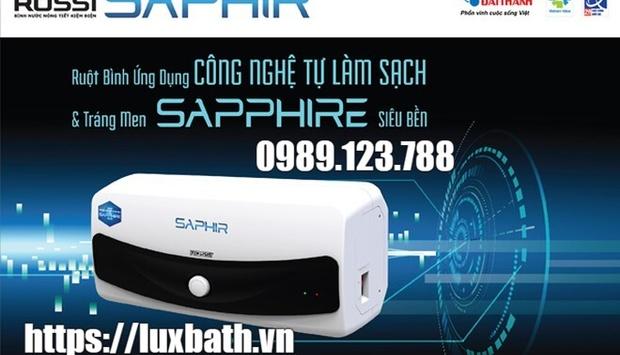 Bình nước nóng lạnh Rossi Saphir công nghệ ưu việt cho cuộc sống tiện nghi