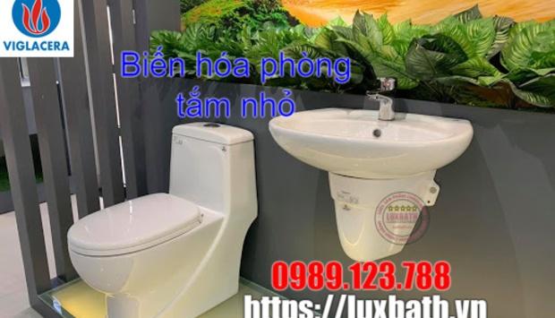 Lựa Chọn Chậu Rửa Mặt Viglacera Cho Phòng Tắm Nhỏ