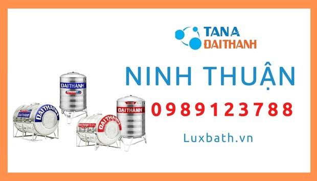 Đại Lý Cấp 1 Bán Bồn Nước Tân Á Đại Thành Tại Ninh Thuận