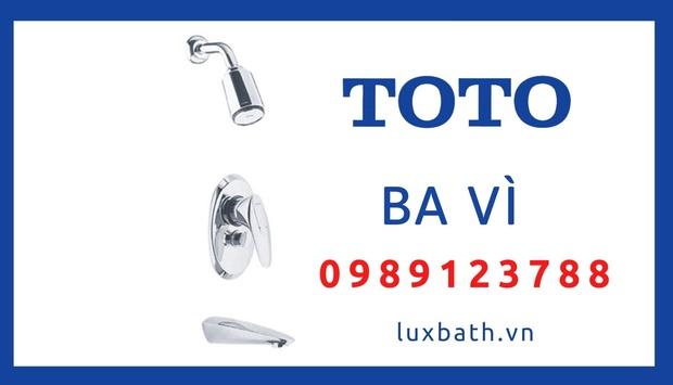 Cửa Hàng Thiết Bị Vệ Sinh Toto Chính Hãng Tại Ba Vì, Hà Nội