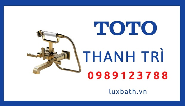 Cửa Hàng Thiết Bị Vệ Sinh Toto Chính Hãng Tại Thanh Trì, Hà Nội