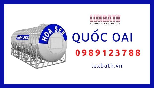 Đại Lý Bồn Nước Inox Hoa Sen Giá Rẻ Nhất Huyện Quốc Oai, Hà Nội