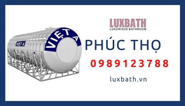 Đại Lý Bồn Nước Inox Việt Á Giá Rẻ Nhất Huyện Phúc Thọ, Hà Nội