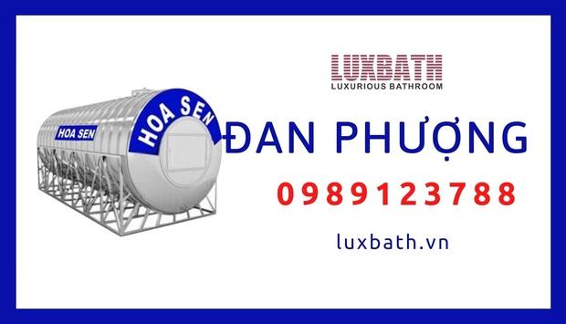 Đại Lý Bồn Nước Inox Hoa Sen Giá Rẻ Nhất Huyện Đan Phượng, Hà Nội