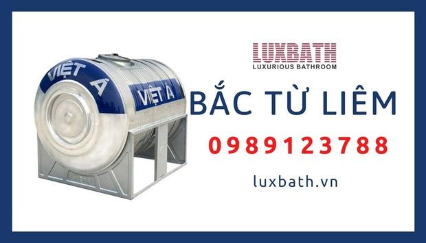 Đại Lý Bồn Nước Inox Việt Á Giá Rẻ Nhất Quận Bắc Từ Liêm, Hà Nội