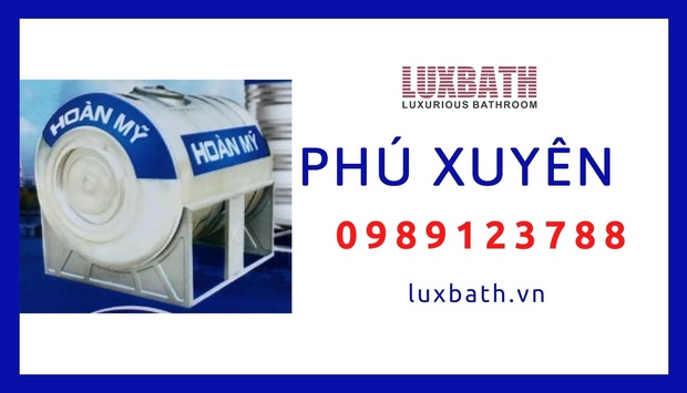 Đại Lý Bồn Nước Inox Hoàn Mỹ Giá Rẻ Nhất Huyện Phú Xuyên, Hà Nội