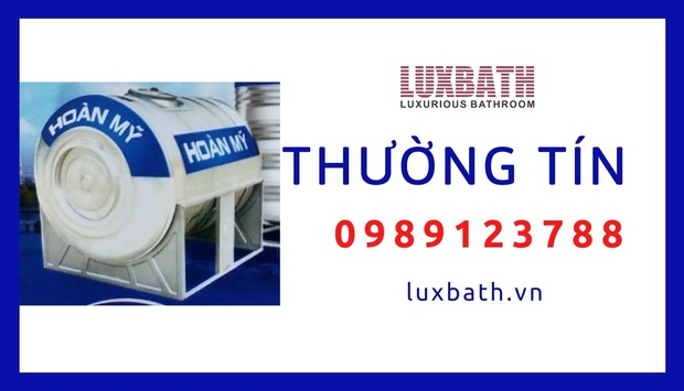 Đại Lý Bồn Nước Inox Hoàn Mỹ Giá Rẻ Nhất Huyện Thường Tín, Hà Nội