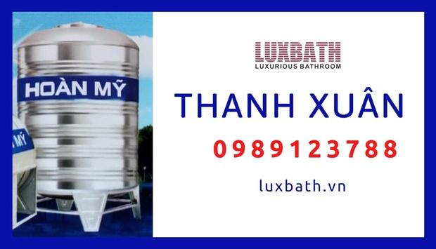 Đại Lý Bồn Nước Inox Hoàn Mỹ Giá Rẻ Nhất Quận Thanh Xuân, Hà Nội