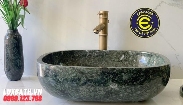 Mẫu chậu rửa lavabo đá Eximstone được khách hàng lựa chọn nhiều