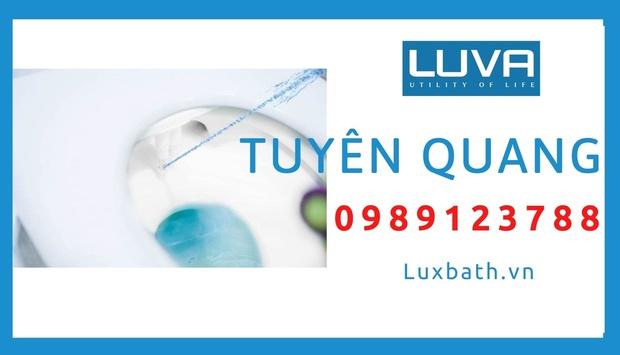 Đại lý vòi rửa vệ sinh thông minh Luva bidet tại Tuyên Quang