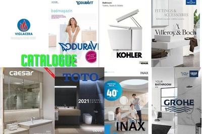 200+ Catalogue thiết bị vệ sinh nổi tiếng tại Việt Nam và trên thế giới