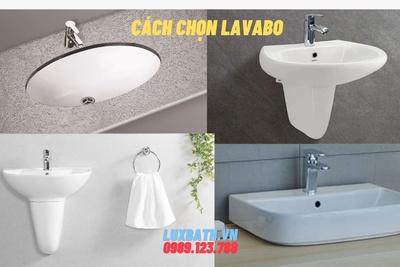Cách chọn lavabo phù hợp với không gian phòng tắm gia đình bạn