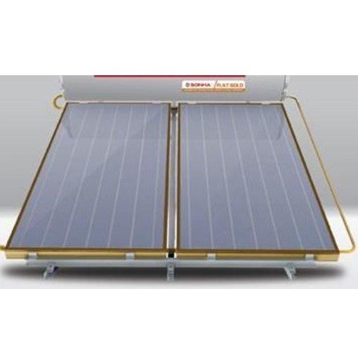 Máy nước nóng năng lượng mặt trời Nanosi 300 Lít tấm phẳng N300TP