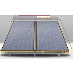 Máy nước nóng năng lượng mặt trời Ánh Dương 300l tấm phẳng