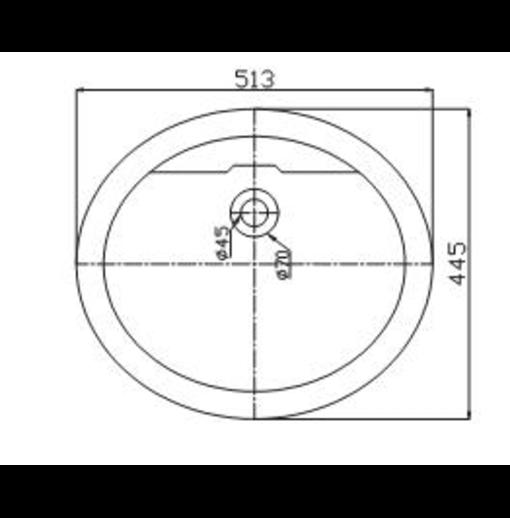 Chậu Rửa Mặt Dương Vành Viglacera CD1