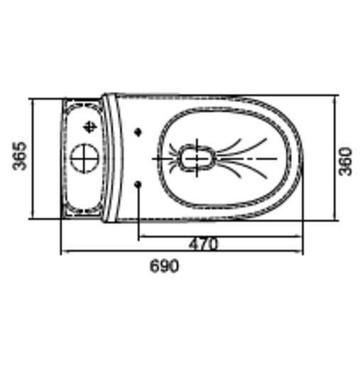 Bồn cầu 1 khối Ceravi C501