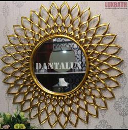Gương trang trí tân cổ điển Dantalux Dahia Gold