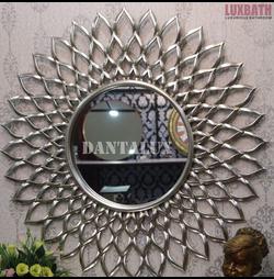 Gương trang trí tân cổ điển Dantalux Dahia Silver