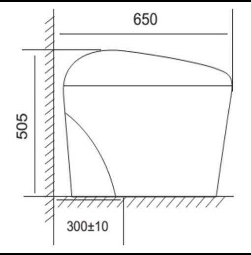 Bồn Cầu Điện Tử Thông Minh Viglacera V95