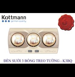 Đèn Sưởi Kottmann K3BQ 3 Bóng Treo Tường