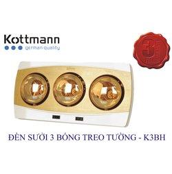 Đèn Sưởi Kottmann K3BH 3 Bóng Treo Tường