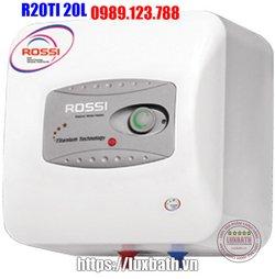 Bình Nóng Lạnh ROSSI R20TI 20 Lít Vuông