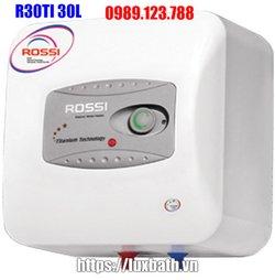 Bình Nóng Lạnh ROSSI R30TI 30 Lít Vuông