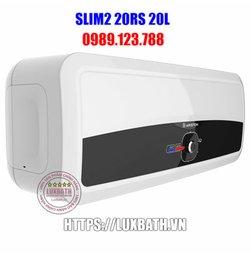 Bình Nóng Lạnh Ariston Slim2 20RS 20 Lít Ngang