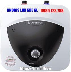 Bình Nóng Lạnh Ariston Andris Lux 6 BE 6 Lít Cấp Nước Trên