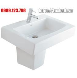 Chậu rửa mặt chân lửng American Standard ACACIA 0504W/ 0704-WT