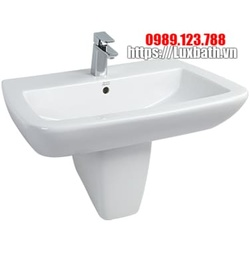 Chậu rửa mặt kèm chân lửng American Standard Ventuno WP-F518/F718