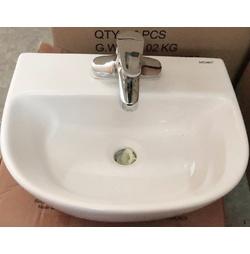 Chậu rửa mặt treo tường, đặt bàn Saguaro Jade 3 lỗ