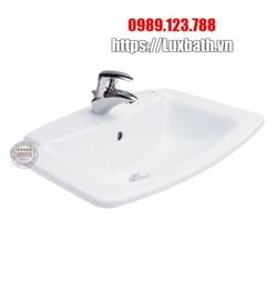 Chậu Rửa Lavabo COTTO C029 Lisa Âm Bàn Dương Vành