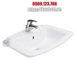 Chậu Rửa Lavabo COTTO C0110 Âm Bàn Dương Vành Victor