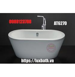 Bồn tắm Nằm Lập Thể Có Chân Yếm Caesar AT6270