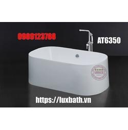 Bồn tắm nằm lập thể có chân yếm Caesar AT6350
