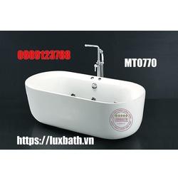 Bồn tắm lập thể massage có chân yếm Caesar MT0770