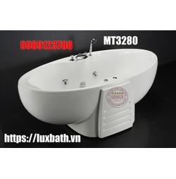 Bồn tắm massage có chân yếm Caesar MT3280