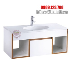 Bộ tủ chậu lavabo Treo Tường Caesar EH05028DDV