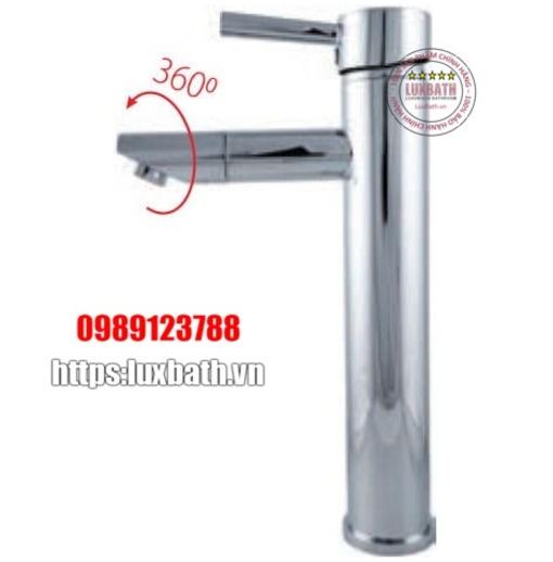 Vòi chậu lavabo 1 lỗ nóng lạnh Royal RA-130