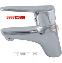 Vòi chậu lavabo 1 lỗ nóng lạnh Royal RA-058