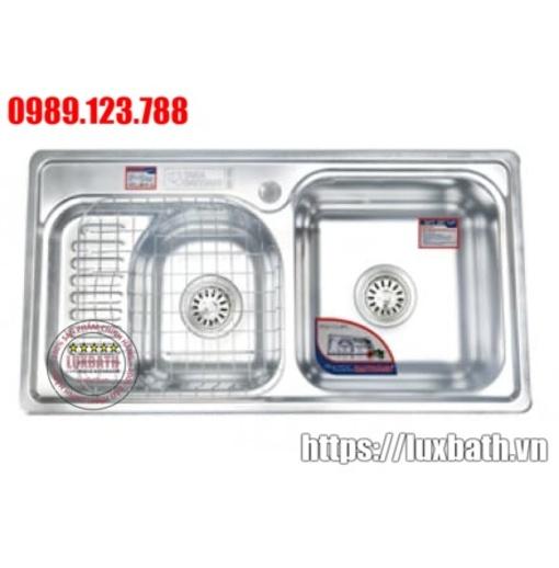 Chậu Rửa Inox Đại Thành Cao Cấp DX42001 SUS 304