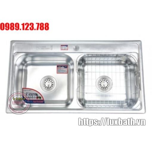 Chậu Rửa Inox Đại Thành Cao Cấp DX42004 SUS 304