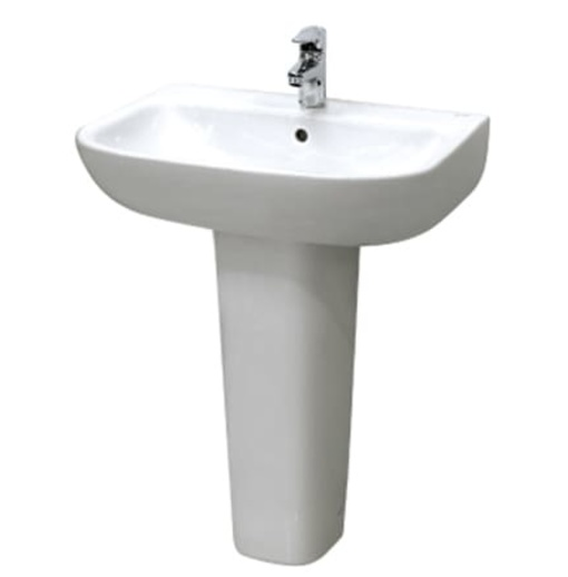 Chậu rửa treo tường chân dài Inax L-298V/-298VD