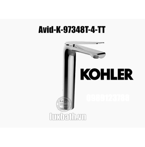 Vòi chậu rửa mặt nóng lạnh Kohler Avid K-97348T-4-TT